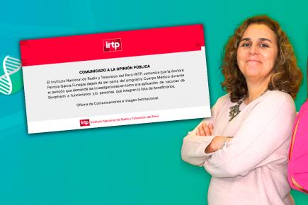 Vacunas Covid-19: pidieron su renuncia en vivo y TV Perú la retira de la conducción (VIDEO)