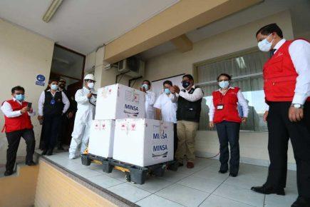 Arequipa: llegada del primer lote de vacunas covid-19 a la región (VIDEO)