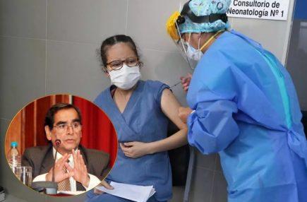 Covid-19: ministro de Salud estima que para julio se vacunará a 61% de población