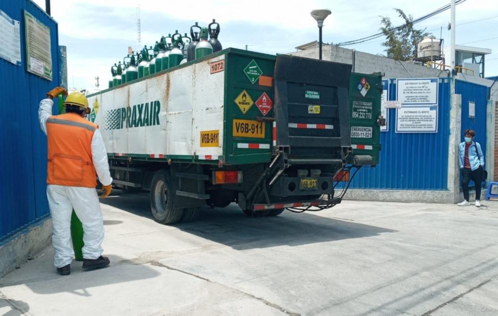 Arequipa lucha por cubrir la demanda de oxígeno y evitar cualquier déficit