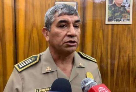 Arequipa: general PNP Víctor Zanabria es designado nuevo jefe del Comando Covid