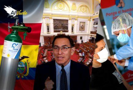 Vacunas VIP: Subcomisión tiene 15 días para investigar denuncias contra Vizcarra |  Al Vuelo Noticias