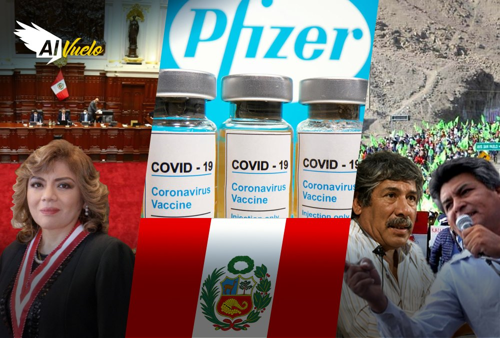 Vacunas Peru Arequipa noticias pfizer tia maria
