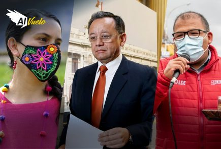 Edgar Alarcón: solo Martha Chávez y Carlos Mesías lo respaldaron |Al Vuelo