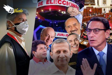 Segundo debate presidencial con una baja |  Al Vuelo