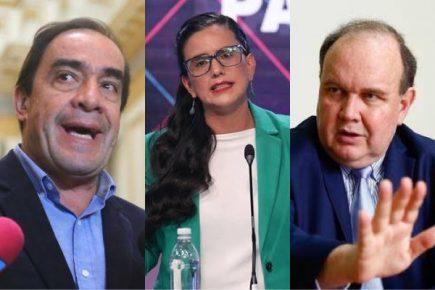 Elecciones 2021: Triple empate entre Lescano, López Aliaga y Mendoza en la encuesta del IEP