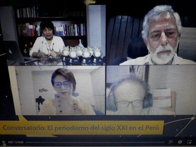 """Conversatorio: """"El periodismo de investigación ha marcado la agenda de este siglo"""""""
