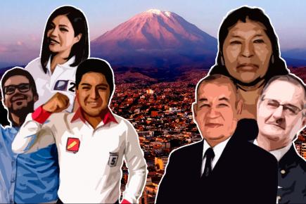 """""""Ccoros"""" y maduritos: variedad de candidatos al Congreso por Arequipa"""