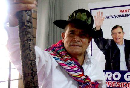Candidato Ciro Gálvez: Su programa de gobierno es la sabiduría andina ancestral