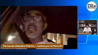 Pico a Pico: entrevistas a candidatos por Arequipa al Congreso: Fernando Zeballos