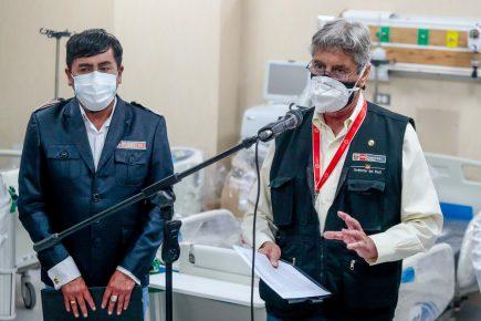 Sagasti desde Arequipa: Tendremos 3 millones y medio de vacunados al irnos