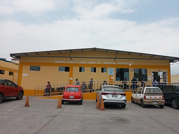 Arequipa:  atención en consultorios externos del Goyeneche se suspende por alza de covid-19