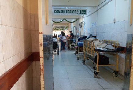 El colapso del hospital Goyeneche
