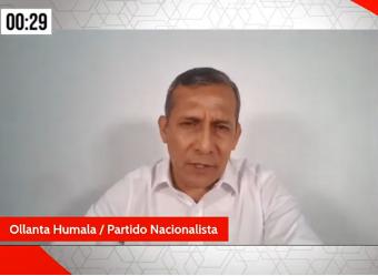 Entrevista a Ollanta Humala, candidato presidencial del Partido Nacionalista