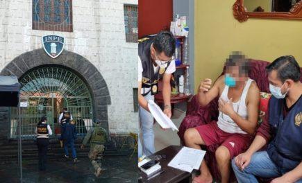 Detienen a 3 trabajadores del INPE de Arequipa por cobros a reos de Tacna