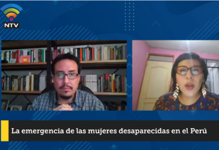 La emergencia de las mujeres desaparecidas en el Perú
