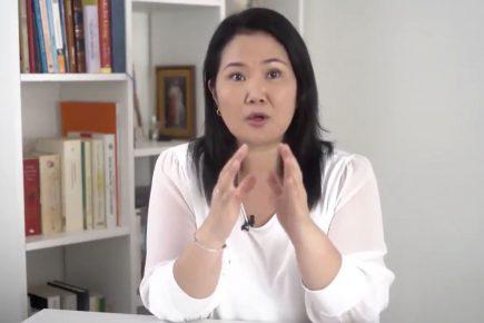 [Engañoso] Keiko Fujimori: normas anticorrupción solo se aprobaron cuando FP tuvo mayoría en el Congreso