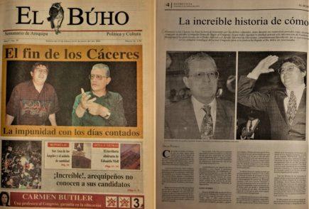 #Hace20Años: La increíble historia de cómo los Cáceres llegaron al Congreso