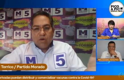 Pico a pico: debate de candidatos al Congreso por Arequipa