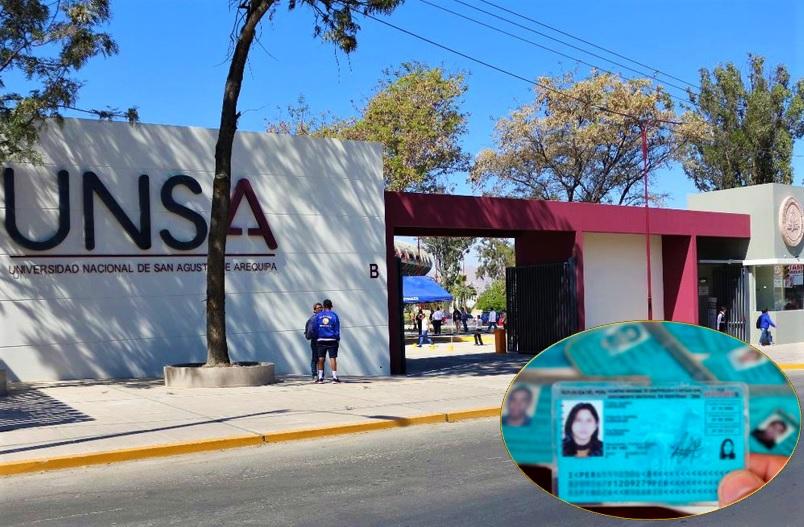 Entrega de DNI de Reniec en Arequipa,