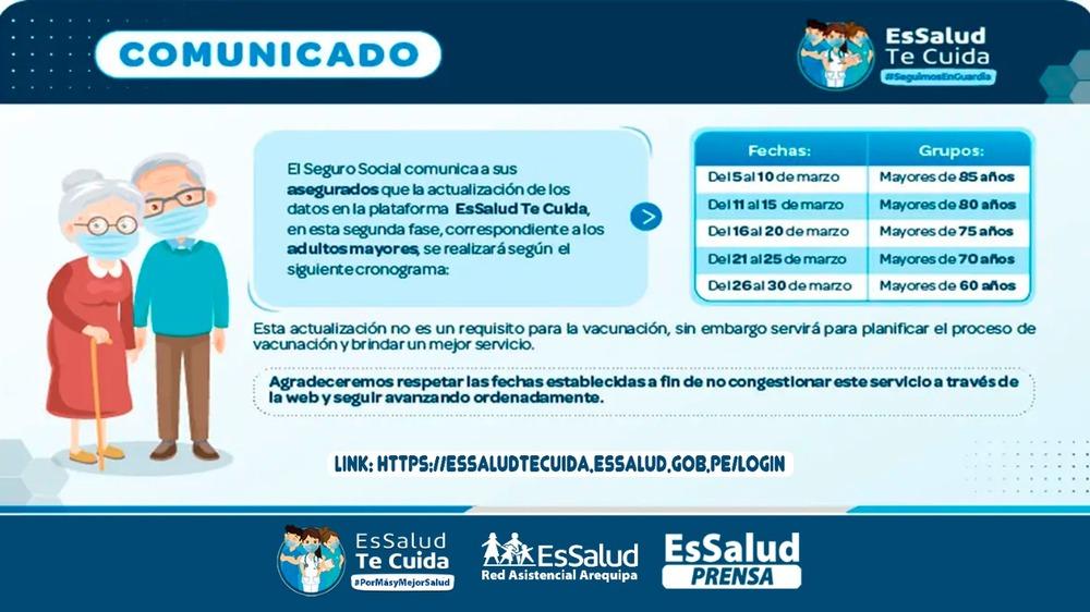 Vacunas covid-19 en Arequipa y Perú