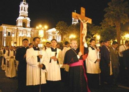 Cómo era la semana santa en Arequipa