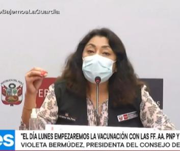 Vacunas Perú: PCM reafirma eficacia de la vacuna Sinopharm (EN VIVO)