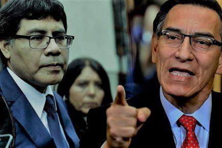 """Martín Vizcarra: """"Pedido de prisión preventiva es motivado por presiones políticas"""""""