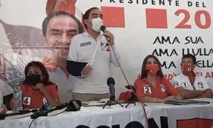 Yonhy Lescano desde Arequipa: la política es ahora destruir al opositor (VIDEO)