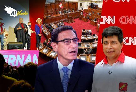 Pleno del Congreso aprueba informe final contra Martín Vizcarra  |  Al Vuelo