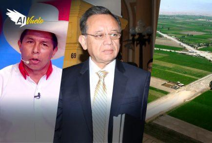 Pedro Castillo saludó adhesión de Rafael López Aliaga  |  Al Vuelo