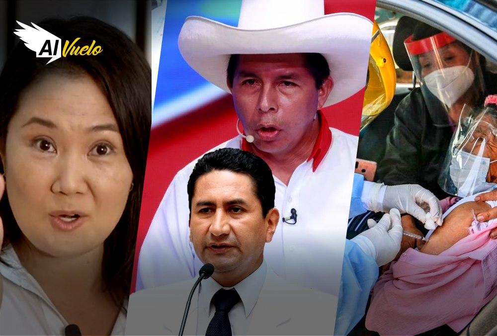Pedro Castillo Keiko Fujimori peru segunda vuelta