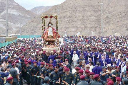 Santuario de la Virgen de Chapi permanecerá cerrado durante festividades