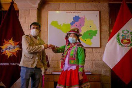 Escolar en pobreza extrema es primer puesto en ranking para el Coar Arequipa