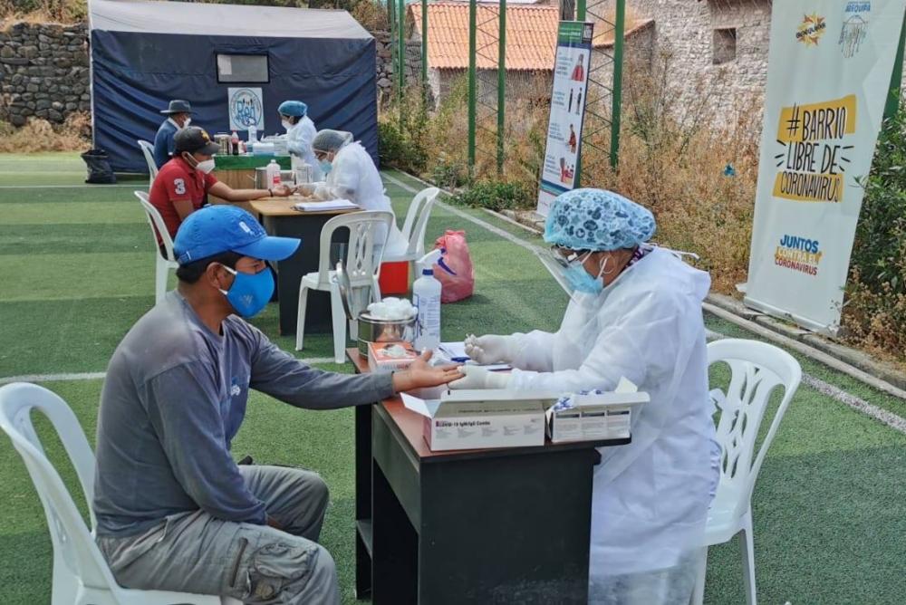 Arequipa: repunte de casos de covid-19 en medio de proceso de vacunación
