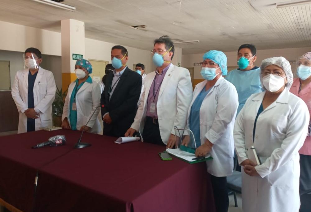 Médicos del Honorio Delgado pidieron a la población a ser más consciente