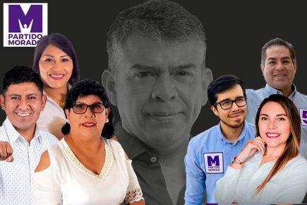 Candidatos sin trayectoria política presenta el Partido Morado en Arequipa