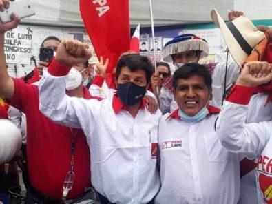 Pedro Castillo: «El pueblo se siente identificado con alguien que nace del mismo pueblo»