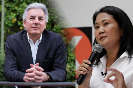 """Hijo de Vargas Llosa pide votar por Keiko: """"Es una persona que ha ido aprendiendo a golpes"""""""