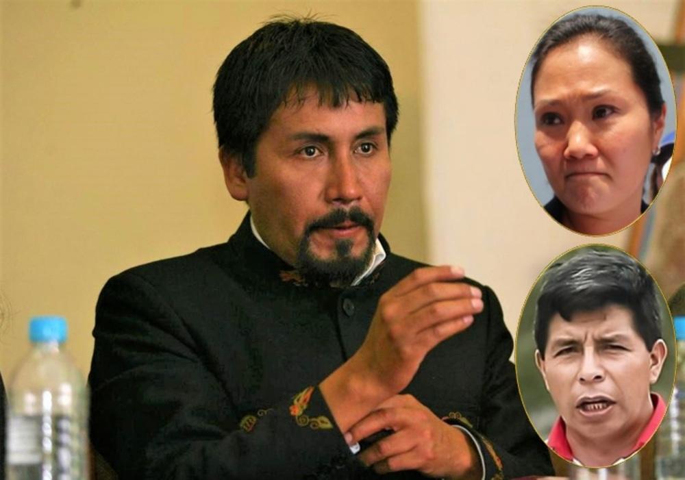 Candidatos keiko Fujimori y Pedro Castillo en Arequipa.