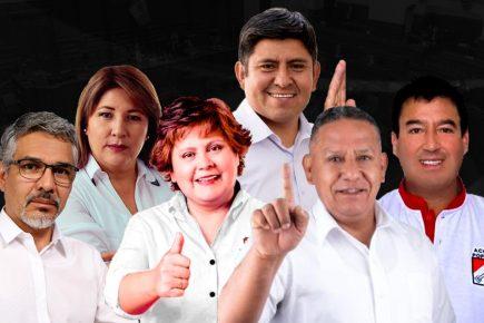 Seis candidatos con más menciones en sondeo estarán en el último debate electoral