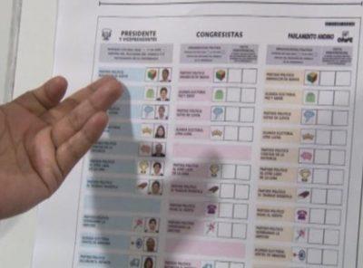 Elecciones 2021: ¿cómo emitir tu voto correctamente en la cédula de sufragio?