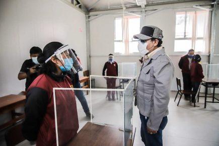 Arequipa: GRA dispone inicio de clases semipresenciales en 17 colegios