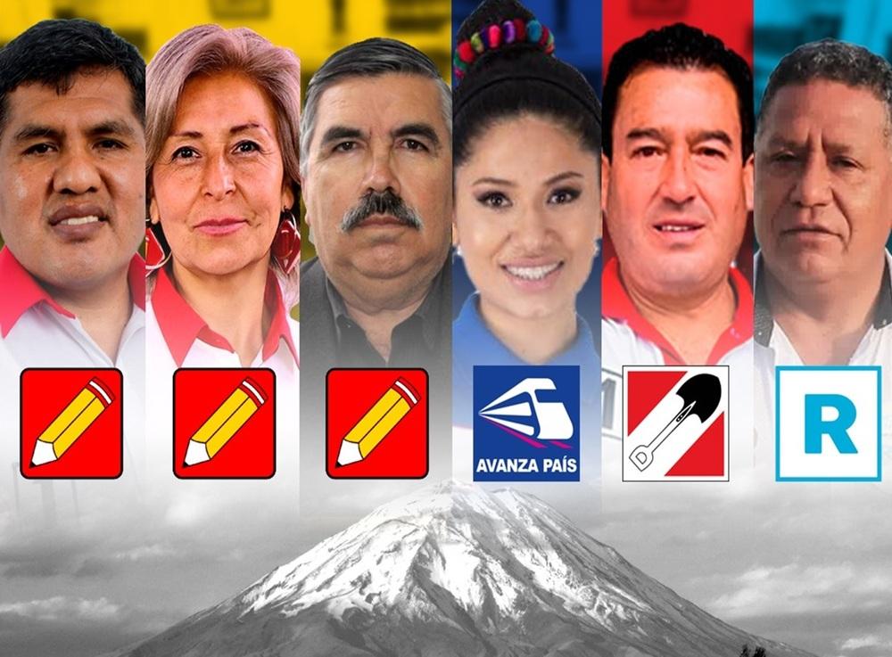 Nuevos congresistas por Arequipa en Elecciones 2021.
