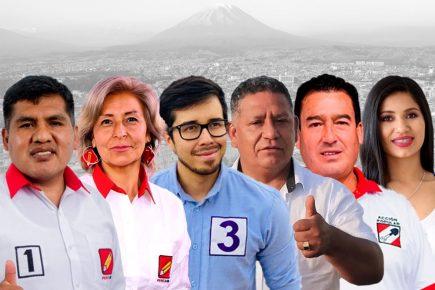 Estos son los virtuales congresistas por Arequipa al 83% de actas procesadas en ONPE