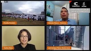 Elecciones 2021: Así se desarrolla el proceso electoral en Arequipa, Lima y regiones
