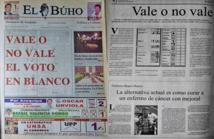 #Hace20Años Elecciones 2001: Vale o no vale el voto en blanco