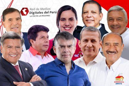 Elecciones 2021: ¿Qué dijeron los candidatos presidenciales durante campaña? (Entrevistas)