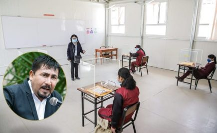 Arequipa: GRA proyecta iniciar clases semipresenciales en 500 colegios