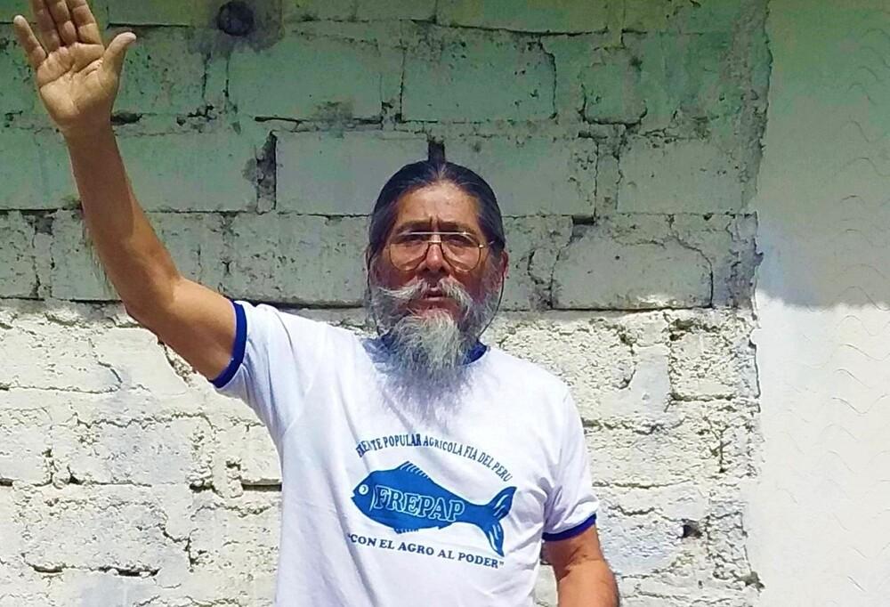 Candidato del Frepap en Arequipa para Elecciones 2021, Flaubert Ataucuri.